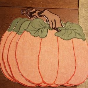 Other - Pumpkin placemat